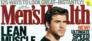 Liam hemsworth mens health cover
