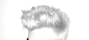 Adam lambert blonde hair