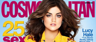 Lucy hale cosmo cover