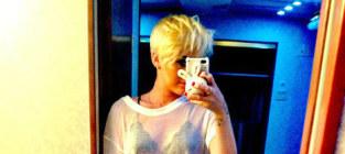 Miley cyrus twitter photo