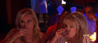 Sonja and ramona drink