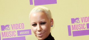 Amber Rose Debuts Baby Bump at Video Music Awards
