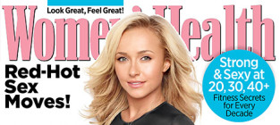 Hayden panettiere womens health cover