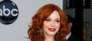 Christina hendricks at the 2012 emmys