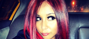Snooki red hair 1