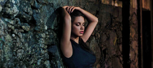 Adriana Lima posing for a calendar while pregnant is...