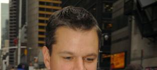Matt Damon Red Sox Fan