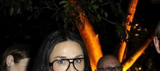 Demi moore large glasses