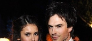Ian somerhalder nina dobrev photo