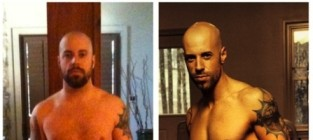 Chris Daughtry Shirtless Photos