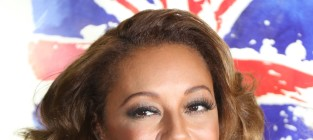 Melanie Brown Close Up