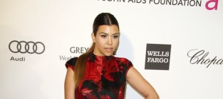 Kourtney kardashian at eltons