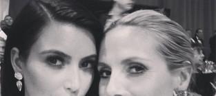 Kim kardashian and molly sims