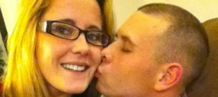 Jenelle evans gary head kiss