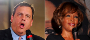 Chris christie whitney houston