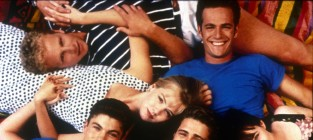 Luke Perry and Jennie Garth: Developing a Sitcom Together!