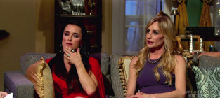 Kim richards and taylor armstrong