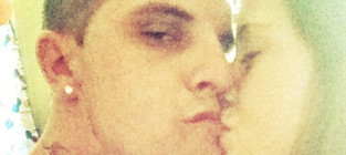 Jenelle evans courtland rogers kiss