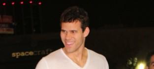 Kris humphries smiles