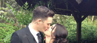 Shenae grimes wedding photo