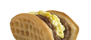 Taco bell waffle taco picture