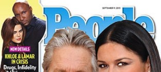 Michael douglas and catherine zeta jones cover
