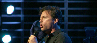 Harry connick jr on stage