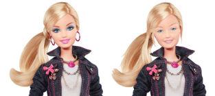 Barbie With No Makeup