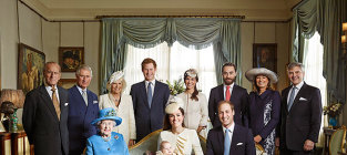 Royal baby family portrait