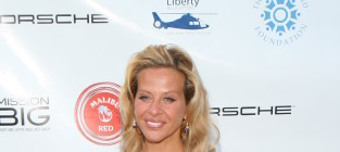 Dina manzo on a red carpet