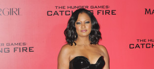 Garcelle Beauvais at Catching Fire Premiere