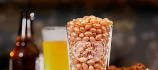 Beer flavored jelly beans
