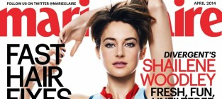 Shailene Woodley in Marie Claire
