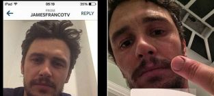 James franco instagram seduction