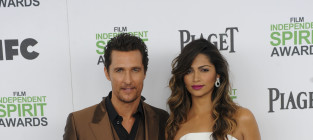 Matthew McConaughey and Camila Alves - 14 Years