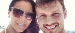 Nick carter and lauren kitt photo