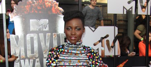 Lupita nyongo at mtv movie awards
