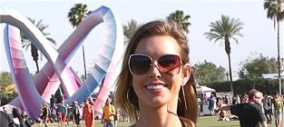Audrina Patridge at Coachella