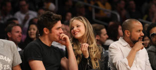 Halston sage and zac efron photo