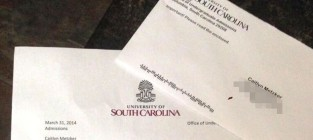 College admissions letter promposal