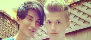 Justin jedlica human ken and friend
