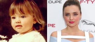 Miranda Kerr as a Kid