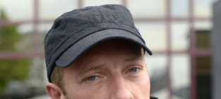 Chris martin close up