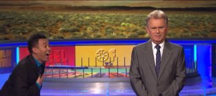 Pat sajak on wheel of fortune