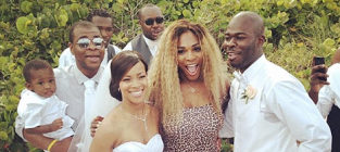 Serena williams wedding crashing photo
