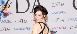 Emmy Rossum at Fashion Awards