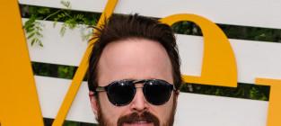 Aaron paul with a beard