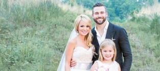 Emily maynard wedding dress photo