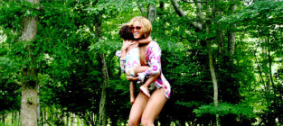 Blue Ivy Camping Photos!