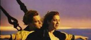 Friends recreate famous movie posters titanic